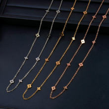 Colliers en acier inoxydable pour femmes pendentif collier chaîne Chocker collier femmes bijoux accessoires meilleur ami collier