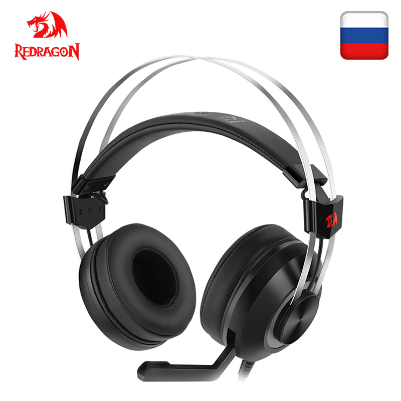 Redragon TALOS H601 GAMING HEADSET GAMER 7 1 USB PC PS4 Surround PRO Wired Computer Headsets