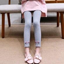 Get more info on the New Cartoon Rabbit Ears Leggings for Girls Kids Spring Autumnm Cotton Warm Leggings Children Skinny Clothing Elastic Trousers