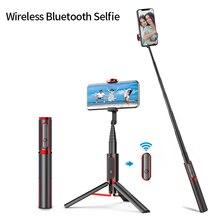 Селфи палка Беспроводной вертикальную съемку палка для селфи и штатив с функцией Bluetooth мини Портативный 15 кг Playload смартфон селфи для iPhone Android IOS