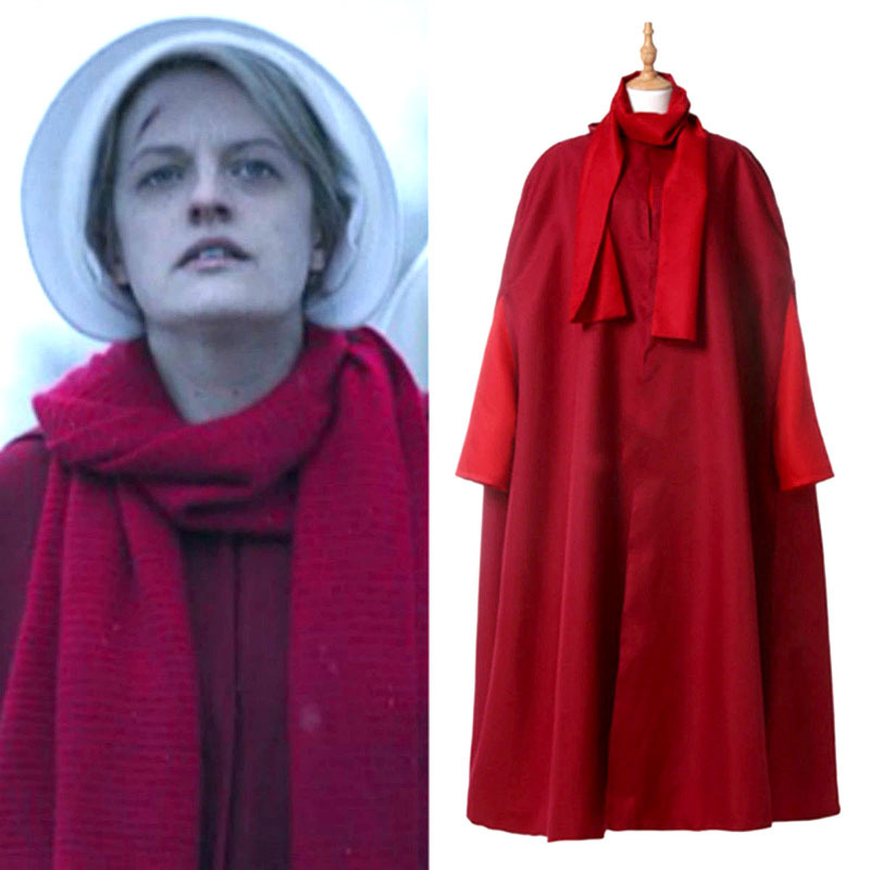 Movie The Handmaid's Tale cosplay Costumes Christmas Adult women party Halloween anime game character party cape coat clothes