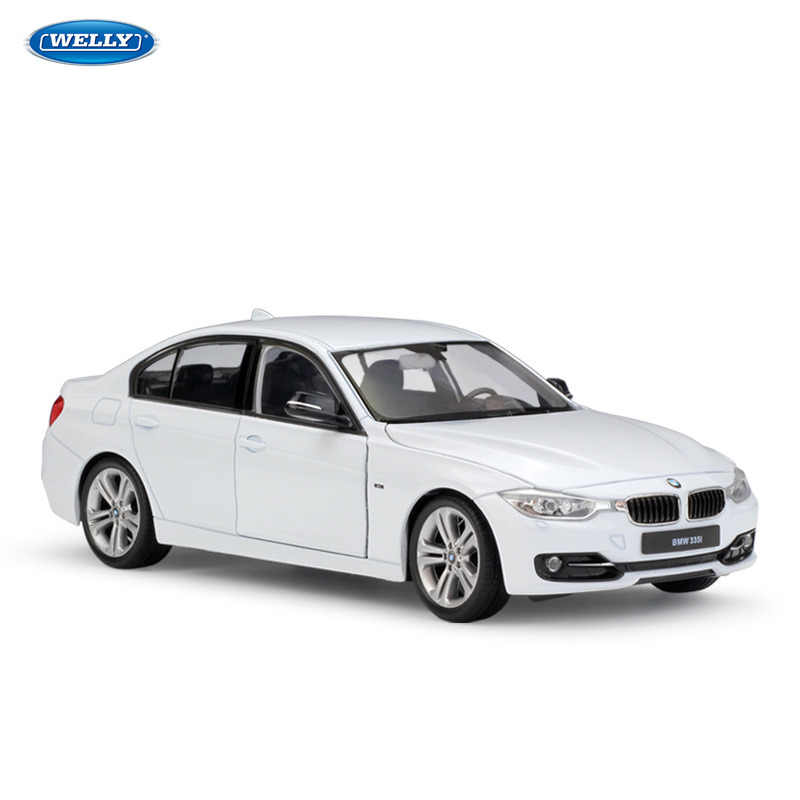 WELLY 1:24 BMW 3 Series  sports car machine Simulation Alloy Car Model Collection toy tools