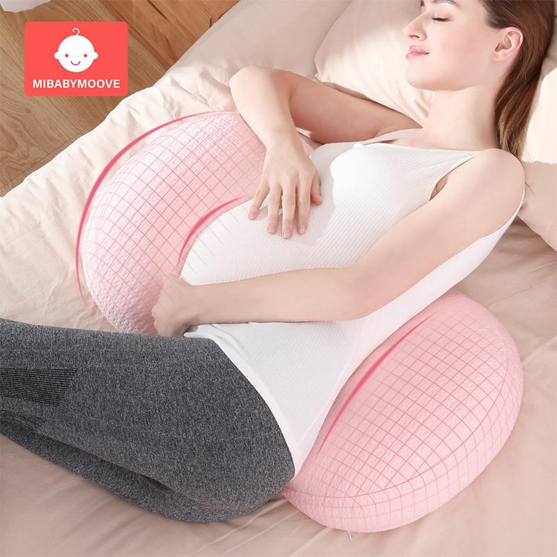 Pregnancy Pillow Side Sleeper U Shape Pregnant Belly Support Body Pillow Multi-function Women Protect Waist Sleep Cushion