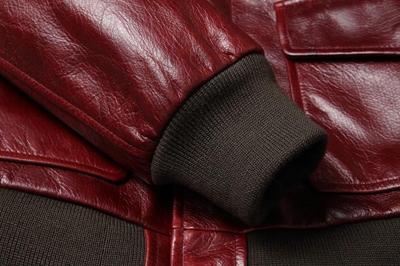 H54d76cbed6a94b4086cb031a24dd0be3y Free shipping.Warm Mens classic genuine leather Jacket,quality men's vintage flight jackets.Eur Plus size Casual A2 coat.sales
