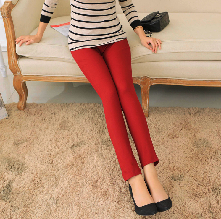 2020 New High Quality Women's Casual Pants Solid  Pants Women Bk001