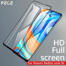 Cristal templado PZOZ para Xiaomi Redmi Note 9 9s 8T 7 8 K30 K20 Pro 4X 5 Plus 7A, cubierta completa de vidrio templado, Protector de pantalla de cristal