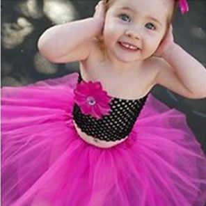 20X23cm pecho niños elástico envuelto pecho tejido niña Crochet diadema tutú tubo tapas ancho DIY falda vestido accesorios rojo 5z