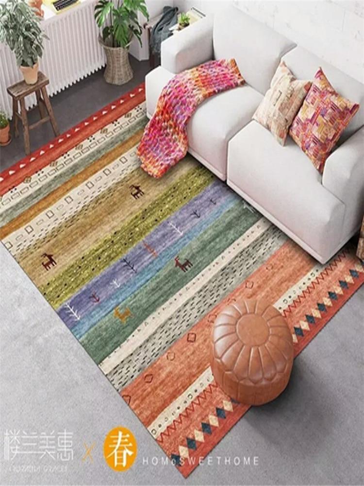 Style classique 2M * 3M grandes tailles tapis salon tapis nouveau Design maison Miniature Style turc tapis chambre Yoga tapis CF