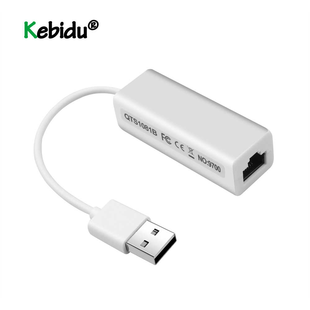 Adapter USB Super Speed USB 2.0 do RJ45 USB2.0 do sieci Ethernet Adapter lan karty 10/100 Adapter do Windows7 PC Laptop