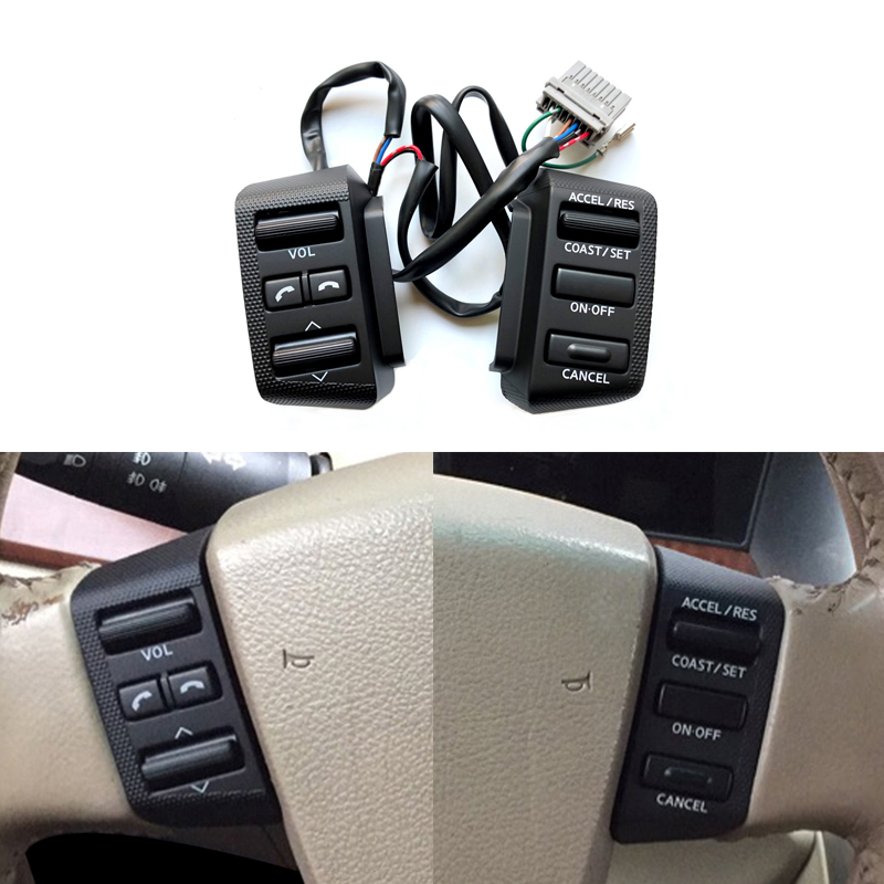 Steering Wheel Cruise Control Switch Audio Multimedia Bluetooth Button For Nissan Teana 2004 2005 2006 2007|Car Switches & Relays| |  - title=