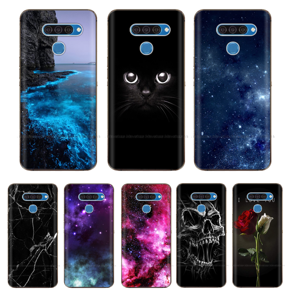 6.5'' For LG K50S Case Silicone Soft TPU Back Cover For LG K40S Case 6.1'' Phone Case For LG K50S V50 Thinq K40 K50 Cases Coque
