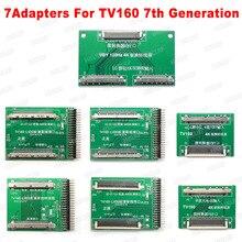 Инструменты для ремонта чипов 2019 TV160 6 го поколения + 43 в 1, Full HD дисплей LVDS, поворот VGA LED/LCD TV, тестер материнской платы, инструменты, конвертер