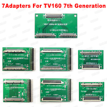 2019 TV160 6th Generation+ 43 in 1 Chip repair tools Full HD Display LVDS Turn VGA LED/LCD TV Motherboard Tester Tools Converter