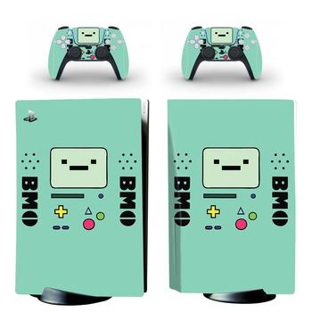 Adventure Time PS5 Standard Disc Edition Skin Sticker Decal Cover for PlayStation 5 Console & Controller PS5 Skin Sticker Vinyl 2