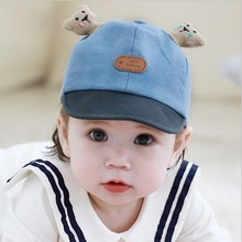 Cute Baby Boy Girl Autumn Winter Home Outdoor Hat Cotton Soft Warm Kid Unisex Lovely Bear