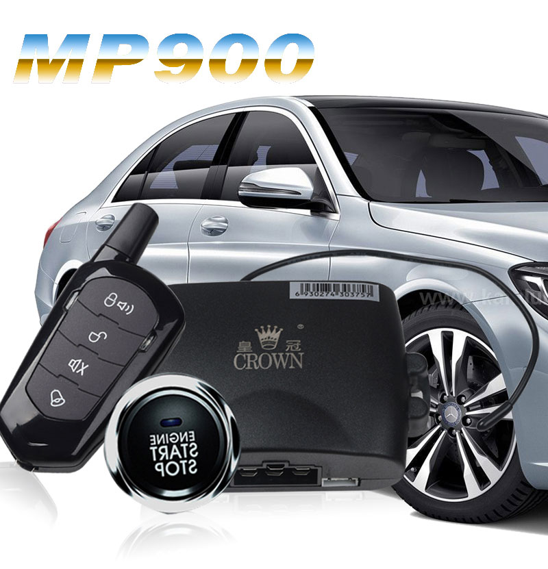 Car Accessories Smart APP Car Alarm Bluetooth Central Lock Car Keyless Entry System Auto Alarm Start Stop Button Central Locking