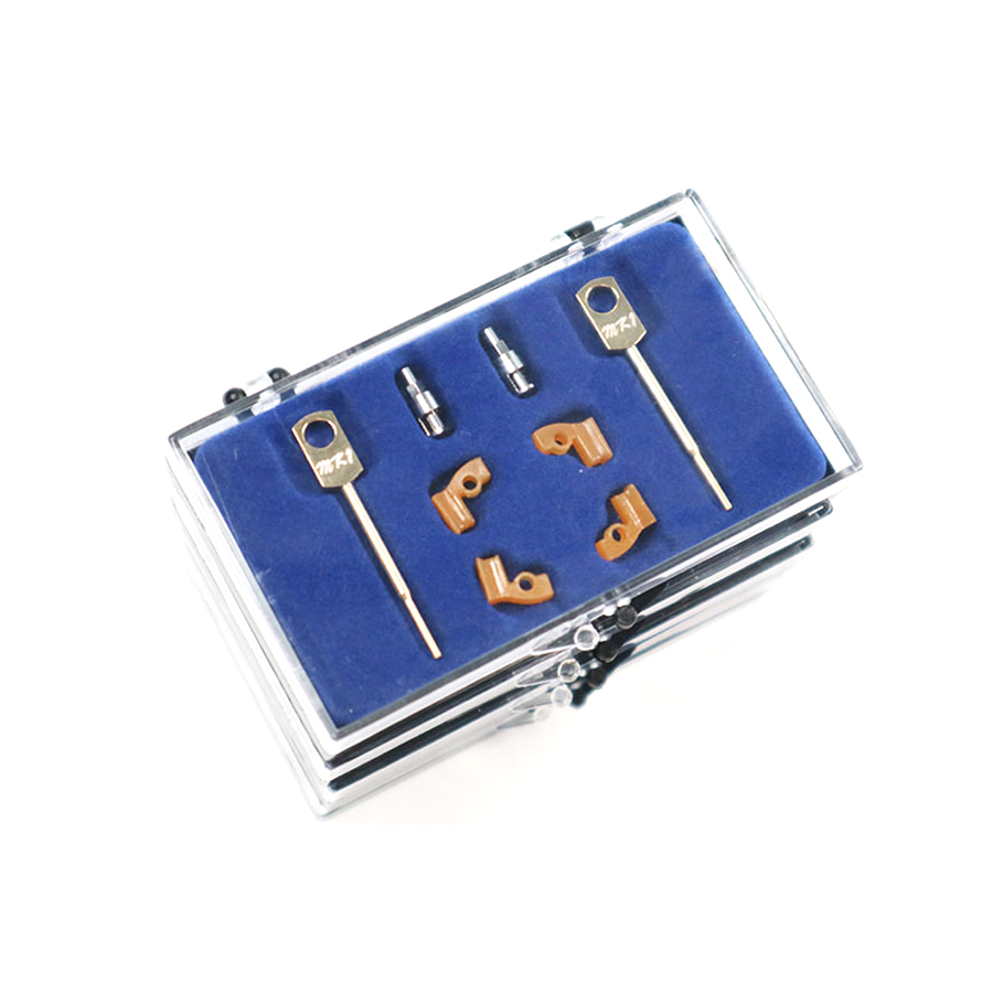 Dental Lab Technician Instrument MK1 Precision Metal Attachments For Dental Removable Casting Metal Partial Work