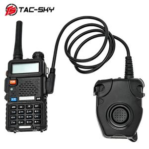 Image 5 - TAC SKY Tactical Headset U94  PELTOR PTT Button Walkie Talkie Headset Plug Adapter Airsoft Radio Military Shooting Earmuffs Use