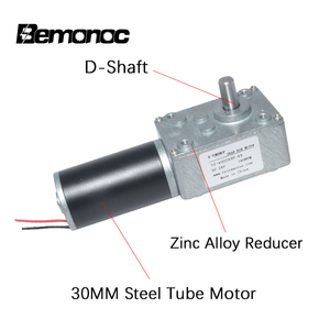 Image 5 - Bemonoc DC Gear Motor 12V 24V 8 470Rpm With Electric Gearbox Reducer High Torque Electric Turbo Gear Motor With Reductor For DIY