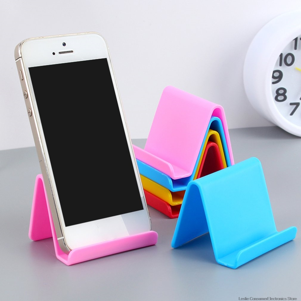 Color Random Portable Mobile Phone Holder Candy Fixed Holder Home Supplies Kitchen Accessories Decoration Phone Dropshipping
