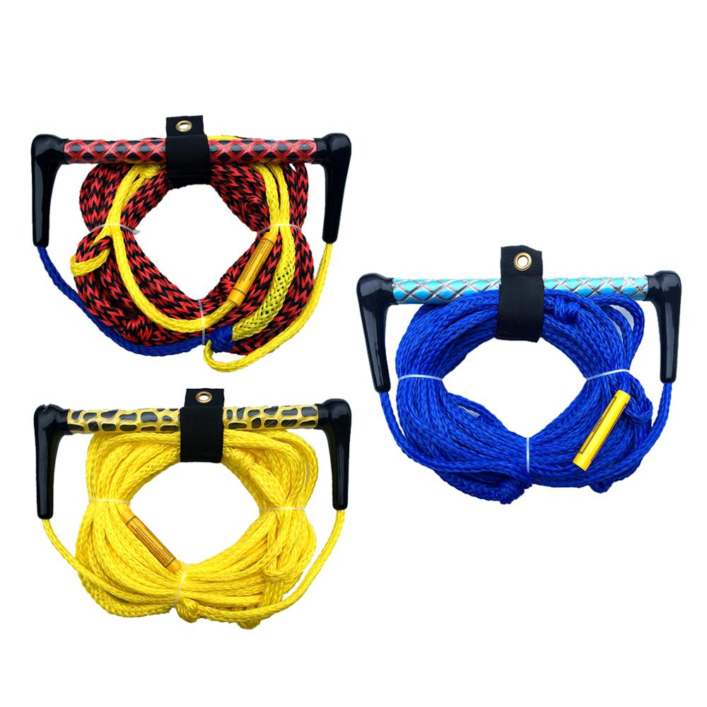 72ft 1 Section Water Ski Rope With Floating Handle And EVA Grip Accessories For Slalom Water Skiing Wakeboarding Wakeskating