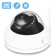 BESDER Vandal proof Dome Wireless IP Camera 1080P Camhi IR Night Vision Video Camera WiFi ONVIF Motion Detect SD Card Recording
