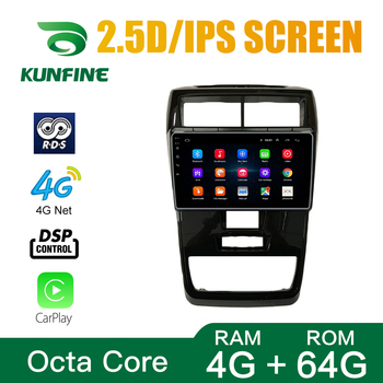 Octa Core Android 10.0 Car DVD GPS Navigation Player Deckless Car Stereo For Toyota AVANZA 2019 Radio Headunit image