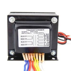 Image 3 - 130W output voltage 230V 6.5V EL34 KT88 Tube amplifiers E transformer for power amplifier