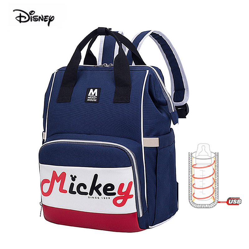 Disney Baby Diaper Bag Backpack For Mom Multifunction Large Capacity Mother Maternity Daiper Nappy Changing Bag Drop Shipping