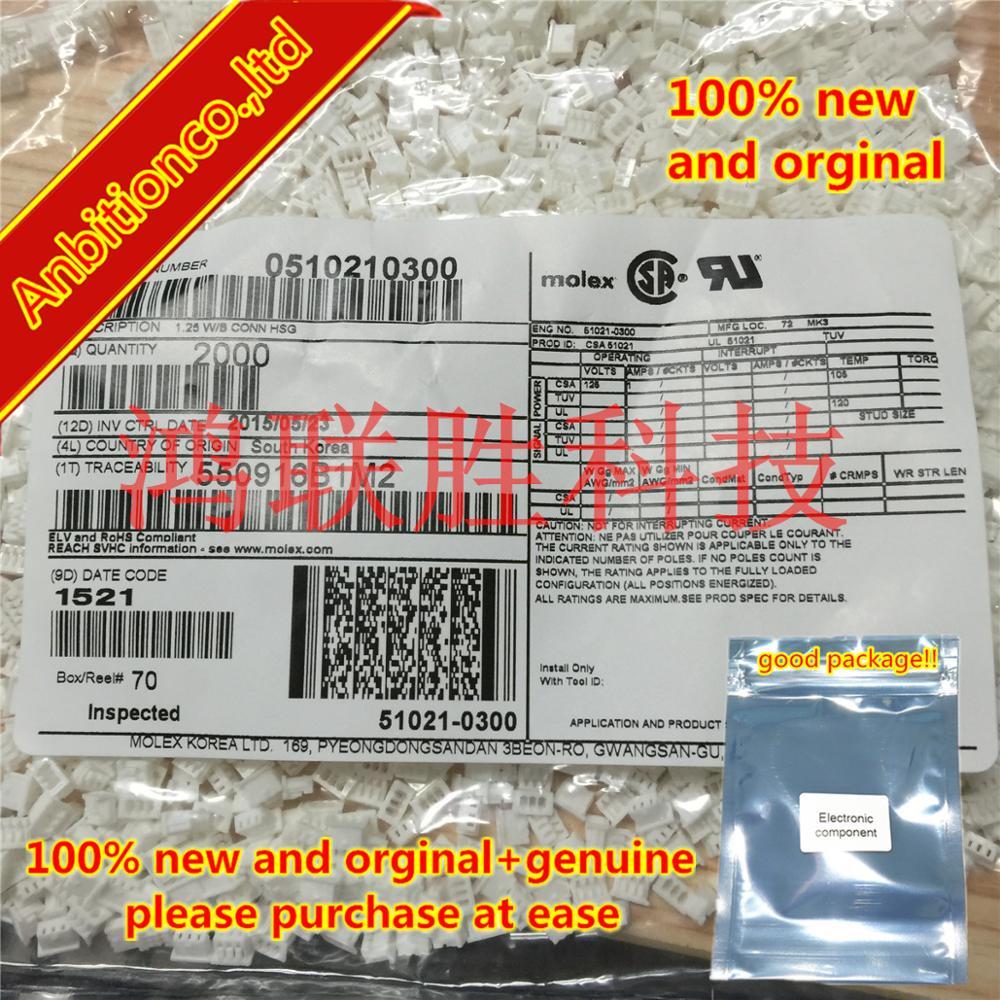 10-100pcs 100% New Original 0510210300 510210300 51021-0300 In Stock