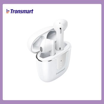 Tronsmart Onyx Ace słuchawki Bluetooth 5 0 bezprzewodowe 24h * odtwarzaj bezciśnieniowe usuwanie szumów za pomocą 4 mikrofonów tanie i dobre opinie douszne Dynamiczny CN (pochodzenie) wireless 42dB Zwykłe słuchawki do telefonu komórkowego Słuchawki HiFi Sport Słuchawki dla dzieci