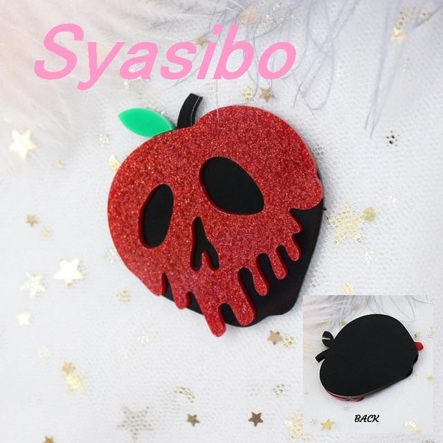 Acrylic Pin Poison Lollipop
