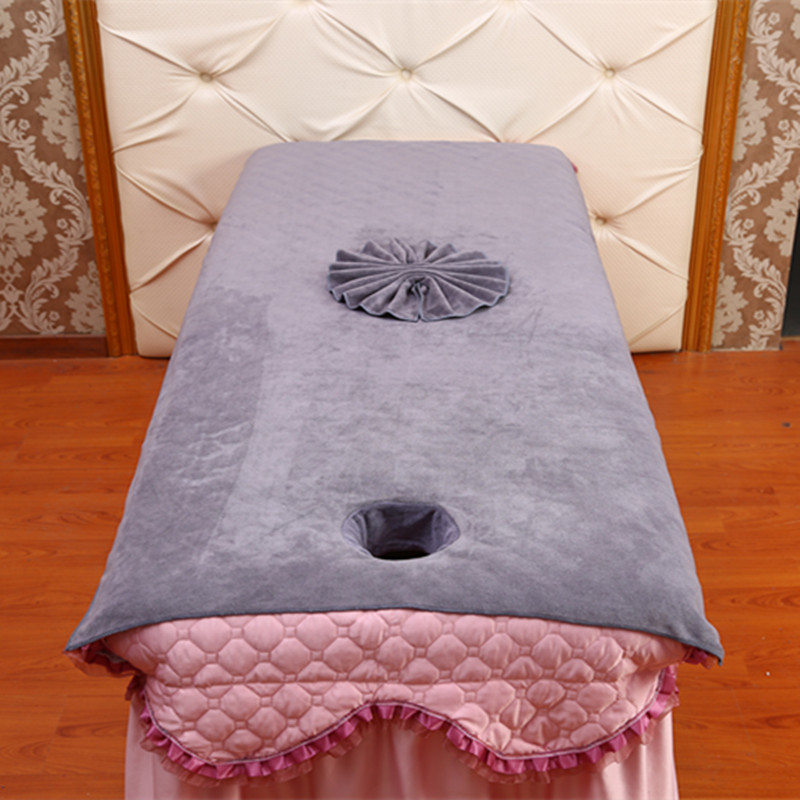 Beauty Salon With Opening Bed Large Towel With Hole Cotton Soft Absorbent Massage Physiotherapy Extra-large Sheet