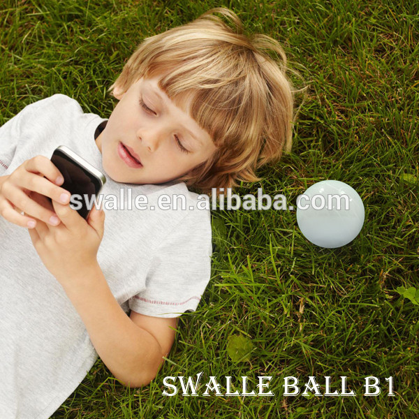 2017 innovative products Swalle robotic ball smart gadgets electronic robotic ball with led light inside and wireless charger