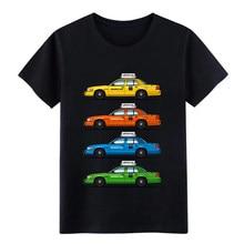 Homme Couleur Taxis Crown Vic t-shirt designer t-shirt S-3xl Kawaii Ajustement Confortable Printemps Lettres chemise