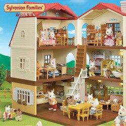 Sylvanian Families сладкий сон кабины Ultimate Детский жакет из денима для девочки; игровой домик детская игрушка
