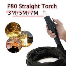 Plasma Cutter P80 Taschenlampe Brenner Nicht-touch Straigh Maschine Taschenlampe Für CNC Arbeit