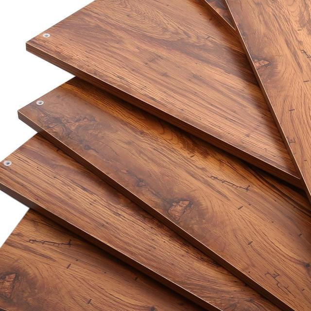 5-tier Wooden Bookcase Bookshelf Storage Organizer Display Home Decor Rack  Furniture Boekenkast 4