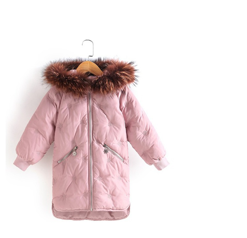 CROAL CHERIE Real Fur Outerwear & Coats Winter Jacket For Girls Children Winter Clothing Outerwear Coat Toddler Clothes (11)