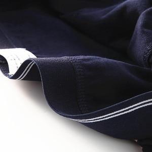 Image 5 - Nanjiren Calzoncillos Bóxer de algodón peinado para hombre, ropa interior transpirable, lote de 5 unidades