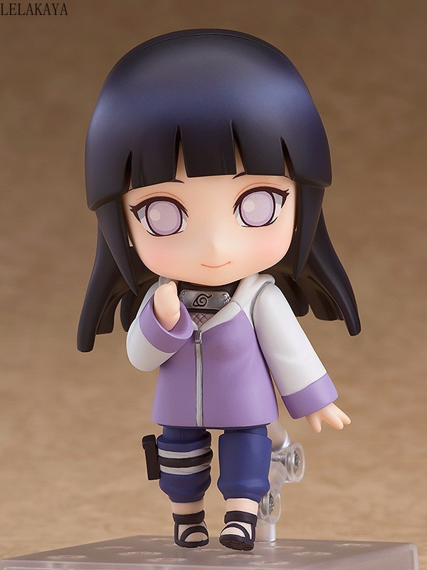 Image 2 - 10cm Mini Cute Anime Character Naruto Shippuden 879 Hinata Hyuga Changeable Ver. PVC Action Figure Collection Model Cartoon ToysAction & Toy Figures   -