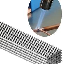 Low Temperature Simple Welding Rods Easy Melt Aluminium Flux Cored Welding Electrodes