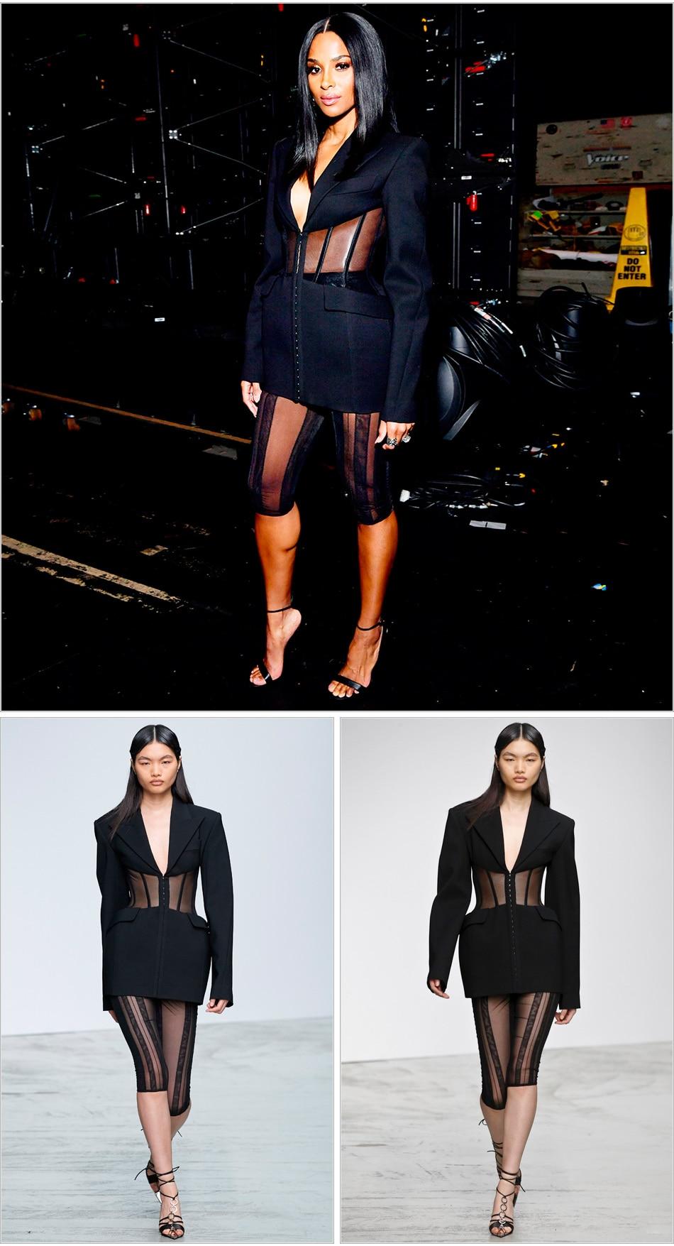 MODEL-black-blazer-shorts_1