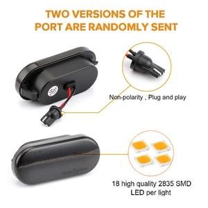 Image 5 - Led Dynamic Side Marker Turn Signal Light For VW Up Caddy T5 Amarok Golf 4 3 Fox Beetle Lupo Sharan Bora Passat Polo Vento Lamp