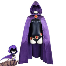 купить HISTOYE Cosplay Costume The DC Comics Titans Costume Raven Cloak Cosplay Clothing for Men Halloween Costume Party в интернет-магазине