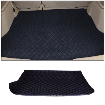 Car rear tail box anti-dirty pad for Volvo S40 2006~2012 trunk mat car shape auto parts