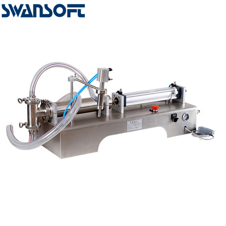 SWANSOFT        Semi automatic One Head High Accuracy Viscous Liquid Filling Machine Beverage milk olive small soft drink oil li|Power Tool Sets|Tools - title=