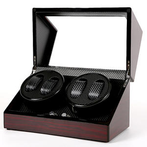 Box Watches Jewelry-Holder Storage Display Wooden Remontoir Automatic 4 Shaker-Box High-End