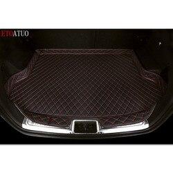 Водонепроницаемый боковой коврик для багажника автомобиля, подкладка для багажника автомобиля, аксессуары для Volkswagen Golf Sportsvan 16-2019
