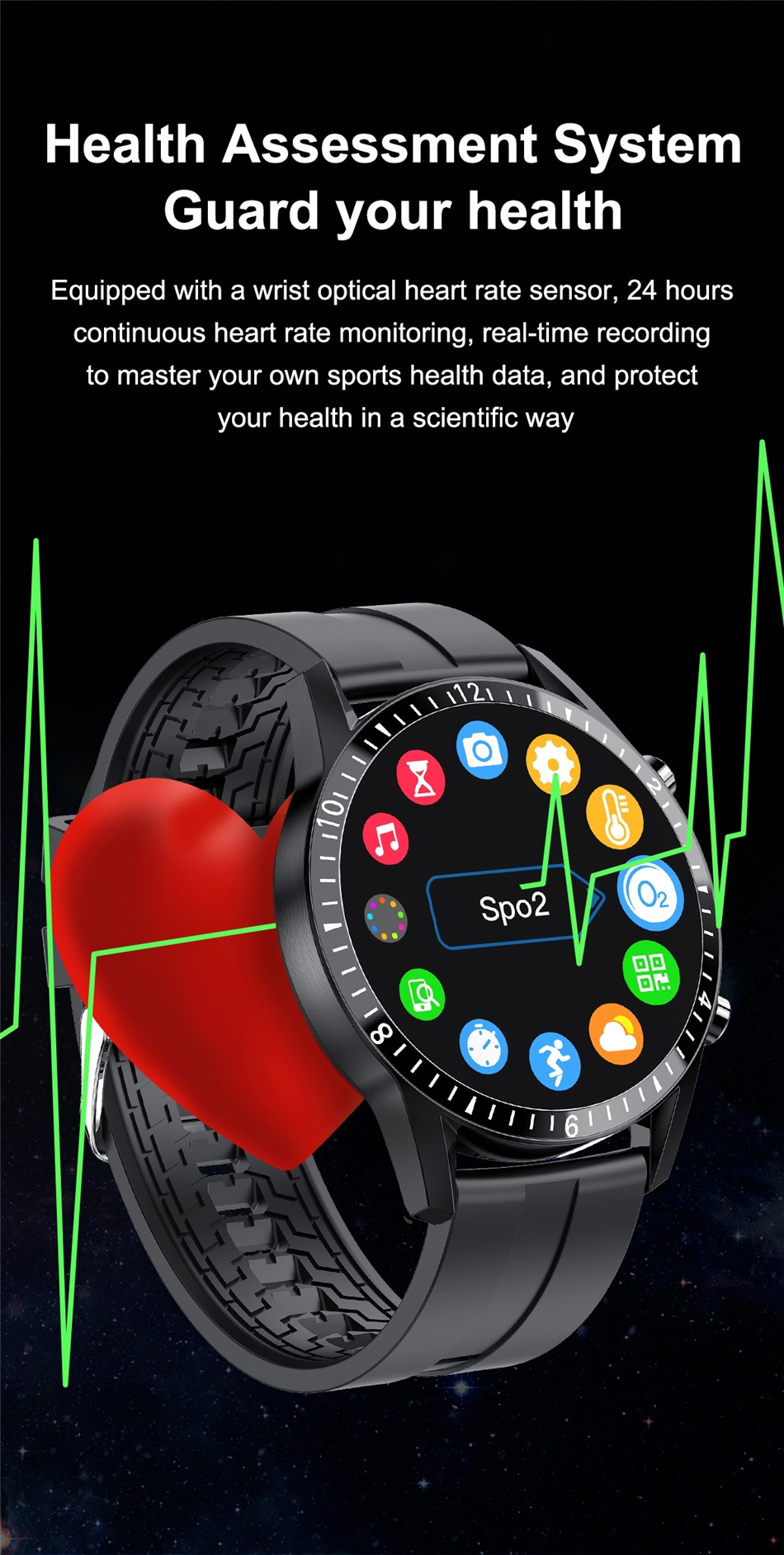 H54dc8c03586b4e9eaf319607d030a64fv 2021 Smart Watch Phone Full Touch Screen Sport Fitness Watch IP68 Waterproof Bluetooth Connection For Android ios smartwatch Men